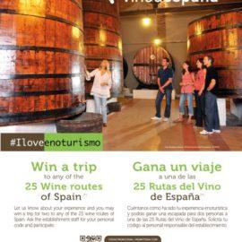 Rutas del Vino de España pone en marcha la campaña #ILoveEnoturismo