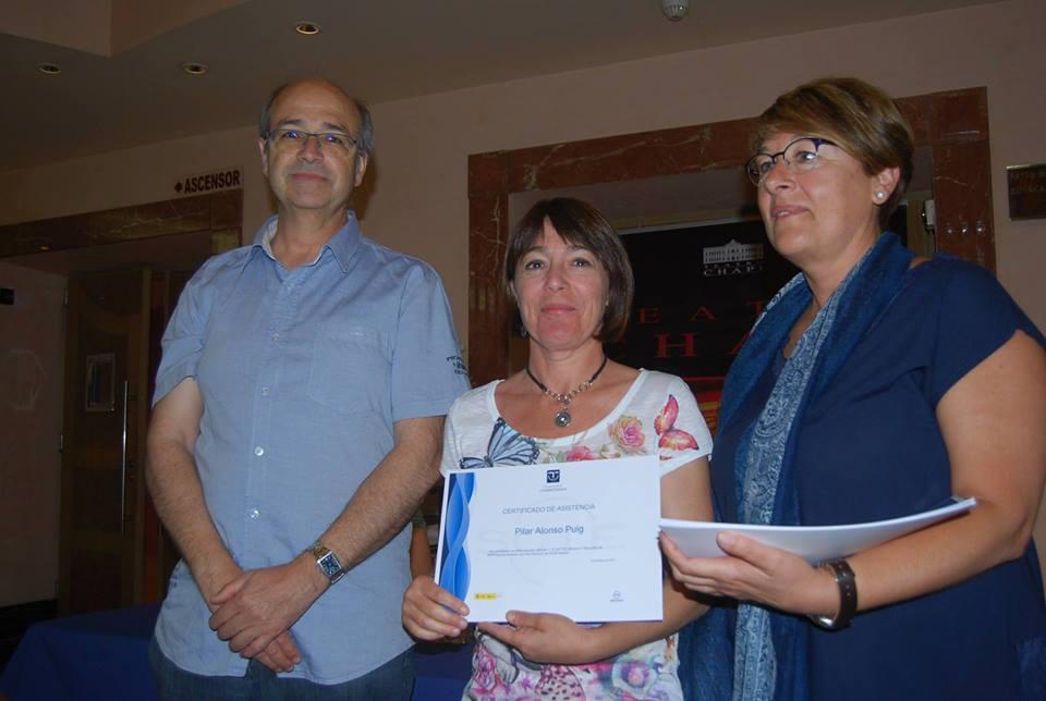 ENTREGA CERTIFICADO ASISTENCIA SICTEC JUNIO 2016